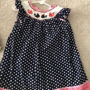 Other - Toddler size 2T Lil Cactus Whale Smocked Dress